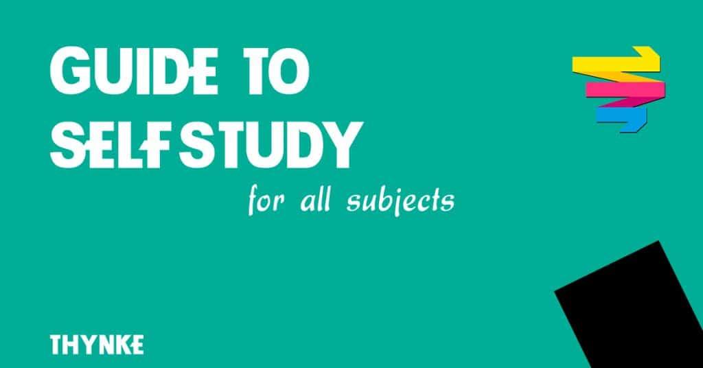 Thynke Guide To Self Study